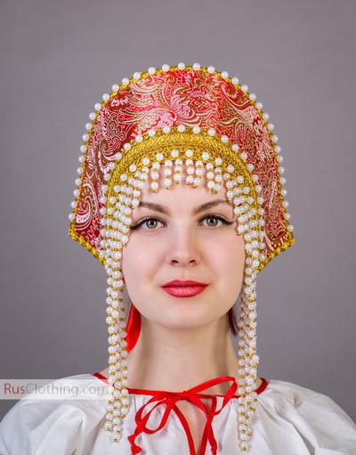 Kokoshnik Russian tiara