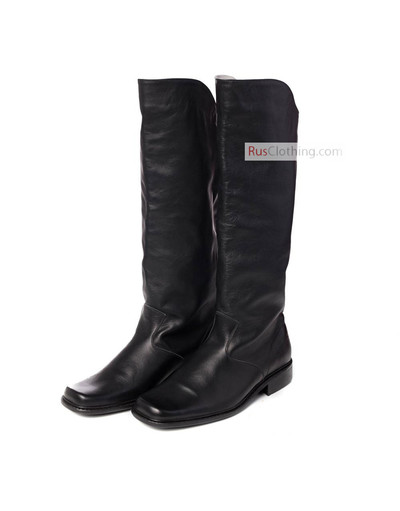 Peter the Great leather boots