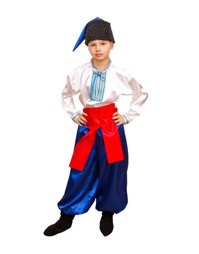 Ukrainian costume boys