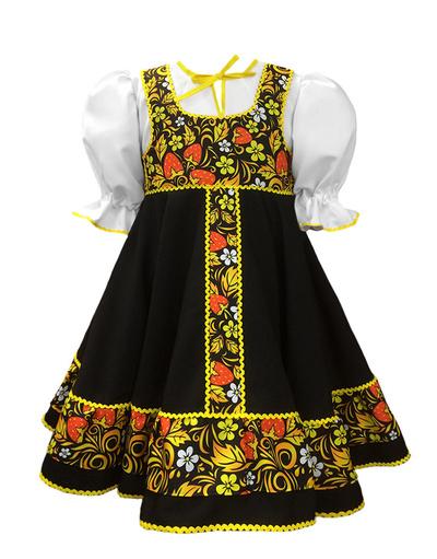 Russian dance costume girls