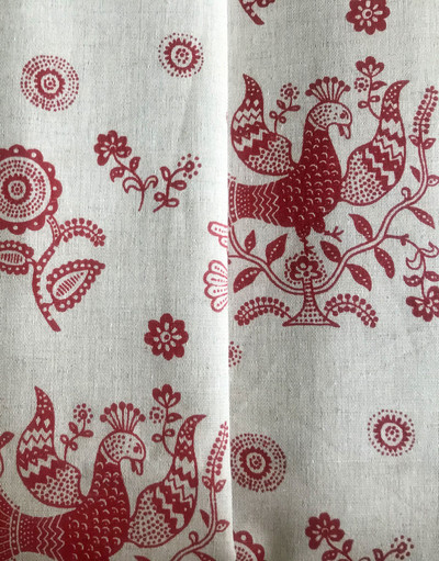 Russian textile ''Linen Embroidery''