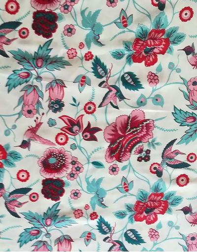 Tissu russe vintage