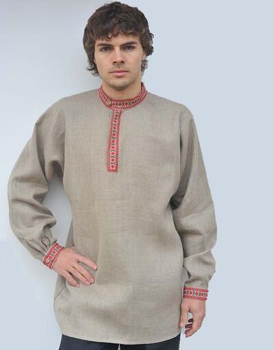 Russian kosovorotka shirt