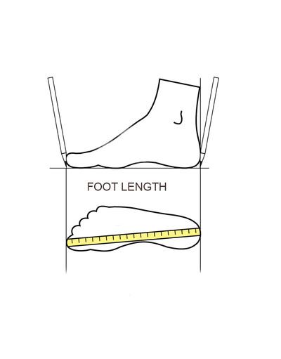 Russian shoes size chart