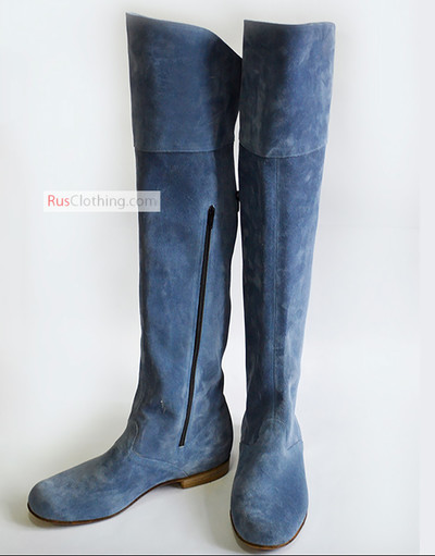 Tall historic boots Russian style