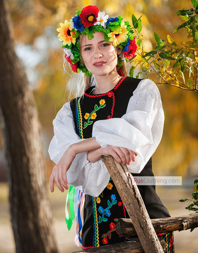 Ukrainan woman costume