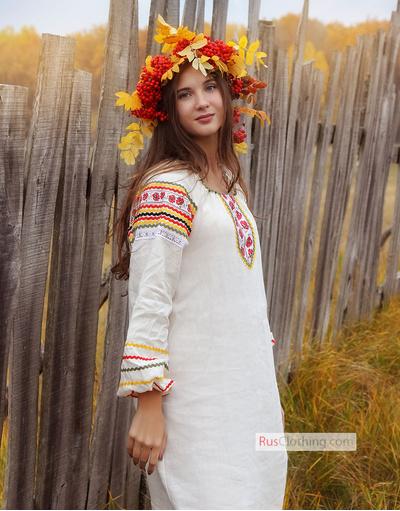 Russian women shirt