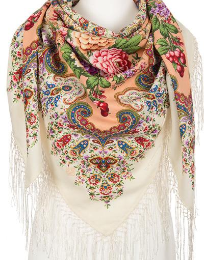 Wool shawl ''Fairy show''