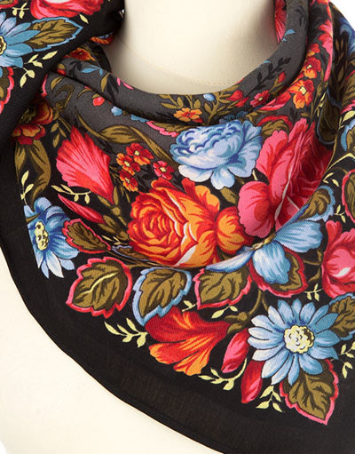 Headscarf ''Сherished dream'' black