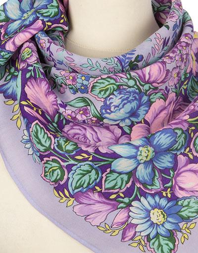 Headscarf ''Сherished dream'' lilac
