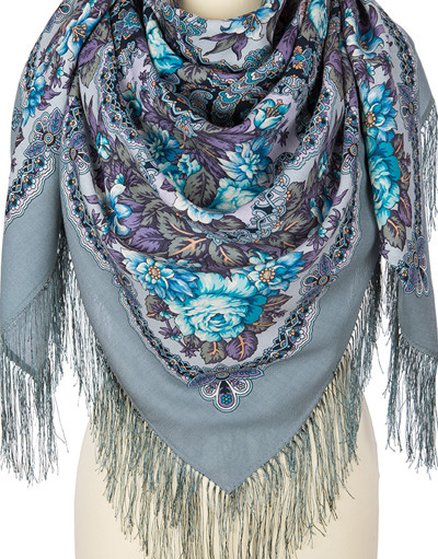 Wool shawl ''Time of miracles''