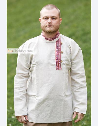 Russian shirt folk style