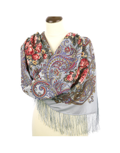 Wool shawl ''The Secret of Success''