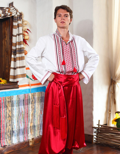 ukrainian costume for men