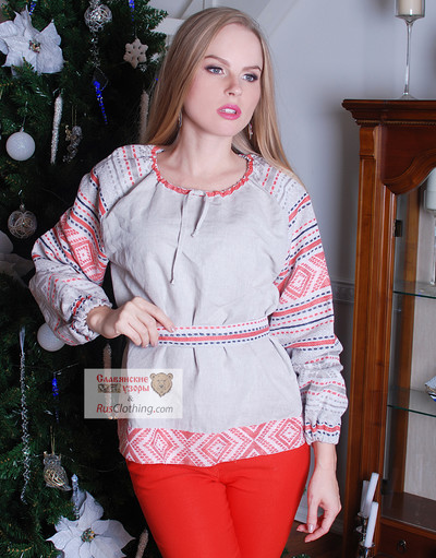 Russian peasan blouse