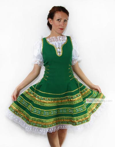 Russian dress Anna