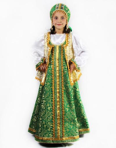 Sudarynya sarafan dress