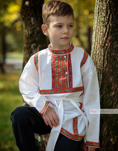 russian shirt