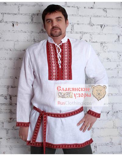Russian shirts fro linen