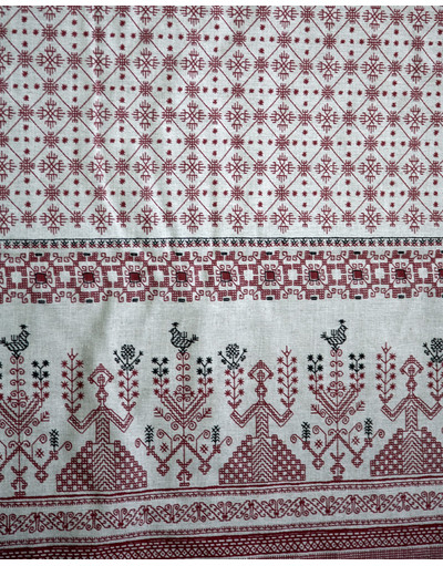 Impression russe '' Linen Embroidery ''