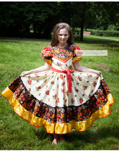 russian dance dress