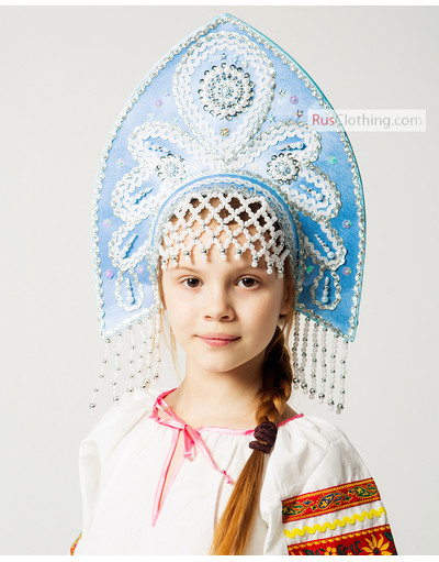 Beautiful kokoshnik