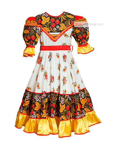 slavic dance costume