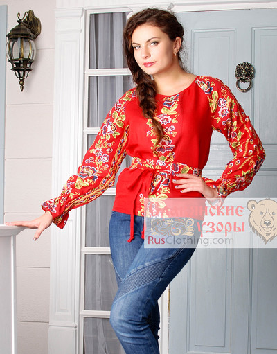 Slavic blouse
