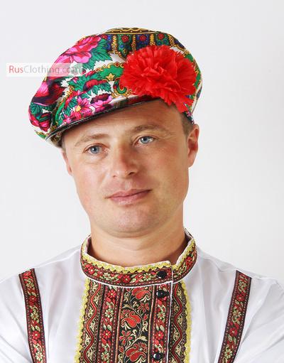 floral kartuz hat