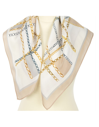 Silk scarf ''Crossing''