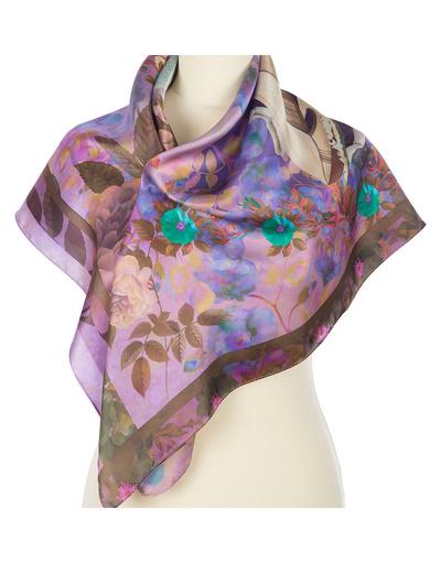 Silk shawl ''Romance''
