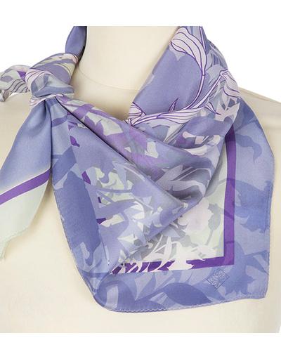 Silk scarf ''Bluebells''