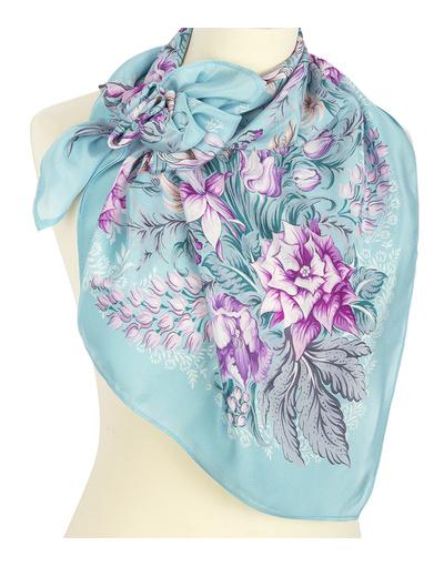 Silk shawl ''After the rain''