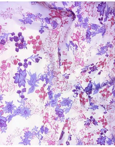 {[en]:Russian pattern cotton fabric Flowers}
