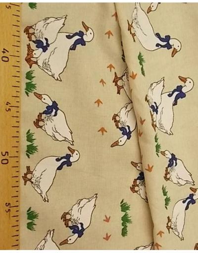 {[en]:Russian linen fabricby the yard Crow's feet}