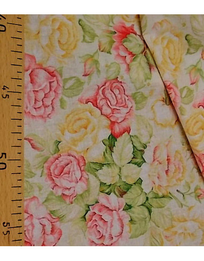 Russian pattern cotton fabric The Sun rose}