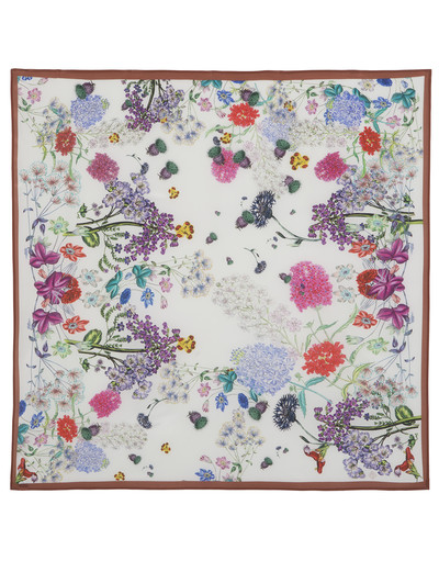 Silk shawl ''Field flowers''
