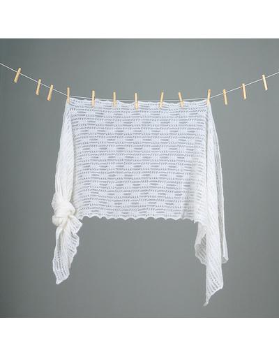 Down pashmina wrap ''Wonderful weave''