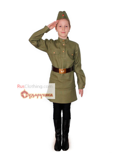 Soviet uniform stage costume