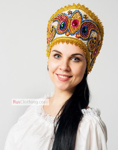 Russian Kokoshnik