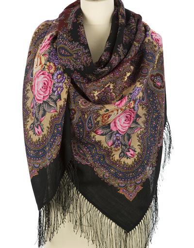 large wool shawl