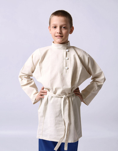 Linen Russian shirt for boy