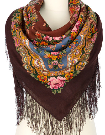 Wool shawl ''Serenade''