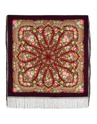 Châle et foulard russe en laine ''Desirable''