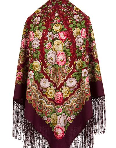 Pavlovo Posad wool shawl Russia''Desirable''