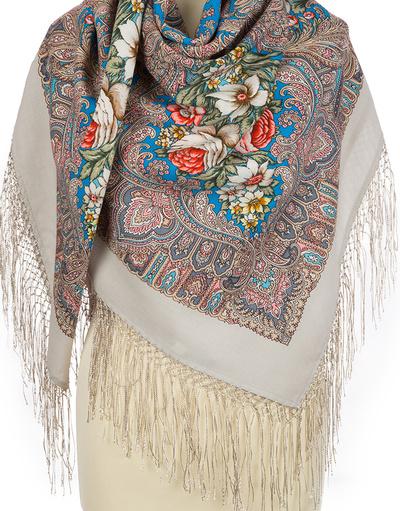 Châle russe en laine ''Enchantress Winter''