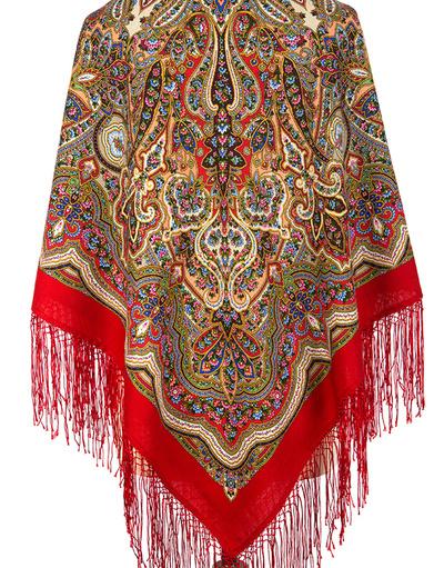 Wool shawl ''Enchantress Winter''Wool shawl ''Taleteller''