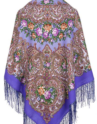 Châle russe en laine ''Giselle''