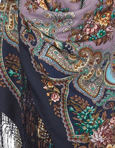 Dence wool shawl ''Maya''
