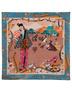 Silk shawl ''Geisha''